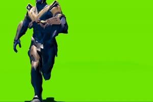 钢铁侠行走 复仇者联盟 绿幕素材 绿屏抠像 特效手机特效图片