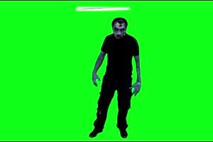僵尸 丧尸 绿屏抠像 特效素材 6[公众号 texiao8 回