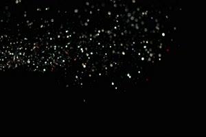 白红蓝光斑光晕粒灰尘移动 黑幕背景视频 抠像素手机特效图片