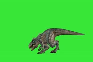 恐龙8 绿屏动物 特效视频 抠像视频 巧影ae素材手机特效图片