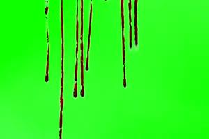 血流满屏 流血 恐怖片关注公众号特效牛手机特效图片
