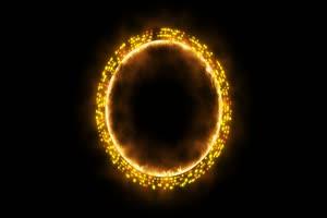 魔法光效47 能量球 传送门绿布和绿幕视频抠像素材