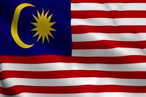 马来西亚 国旗绿幕后期抠像视频特效素材@特效牛手机特效图片