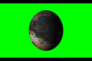 星球 星体旋转的恒星 星球 4 绿幕视频免费下载手机特效图片