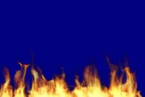 火焰 蓝屏素材 绿屏抠像蓝