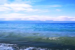 海浪 海水 蓝天 手机专用背景竖版视频手机特效图片