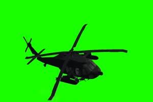 直升机 飞机 航天飞机 绿屏抠像素材 巧影AE 10手机特效图片