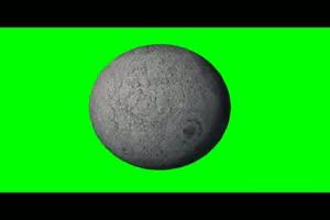 星球 星体月球月亮 绿幕视频免费下载手机特效图片