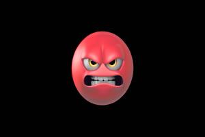 生气带通道表情卡通元素表情Emoji 17