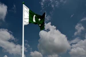 巴基斯坦 国旗绿幕后期抠像视频特效素材@特效牛手机特效图片