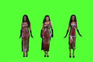美女跳舞 其他民族 2手机特效图片