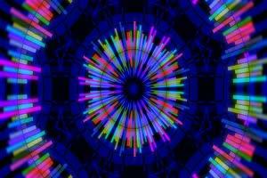 VJ视频 炫彩 LED大屏幕 超清蹦迪视频素材 05手机特效图片