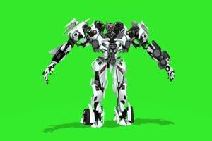 变形金刚  绿屏抠像 特效素材 巧影AE 1