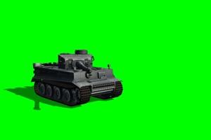 老虎 坦克 大炮 3 特效后期