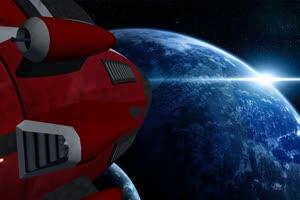 宇宙飞船 Cockpit 外星飞船 2 绿屏绿幕特效抠像素手机特效图片