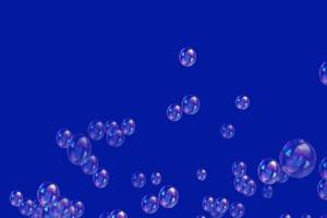 肥皂泡泡 气泡 绿屏抠像蓝