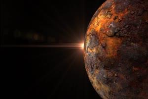 星球 星体旋转的恒星 星球 8 绿幕视频免费下载手机特效图片