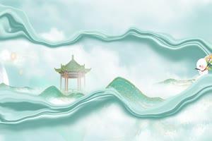 免费中秋节背景视频 月亮