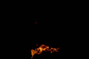 火焰燃烧 透明通道 特效素
