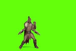 四只手战士格斗 人物视频 绿幕抠像 特效视频 巧手机特效图片