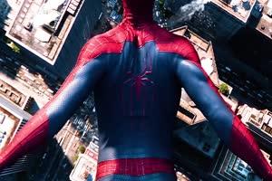 蜘蛛侠高清帧绿幕素材合集 蜘蛛侠素材 绿幕素材手机特效图片