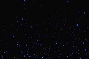 生长的蓝色银光树1 树叶花 黑幕背景抠像视频 广手机特效图片