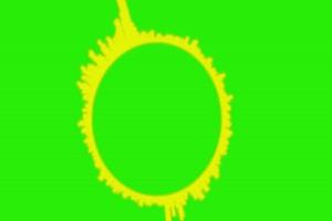 音波 音浪 频谱 音乐节奏 可视化音频 绿色抠像素手机特效图片