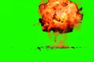 免费 飞机 战斗机 爆炸 绿