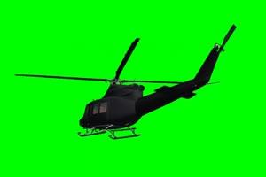 直升机 飞机 航天飞机 绿绿布和绿幕视频抠像素材