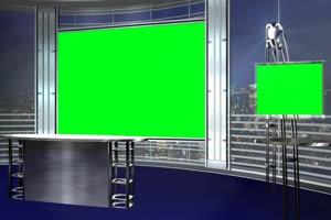 直播间 虚拟直播间 免费绿幕视频 绿屏抠像视频手机特效图片
