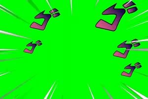 100个热门绿幕素材大合集 超值 剪映 AE 巧影 抠像手机特效图片