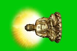佛主 观音 菩萨 绿屏抠像素材 11手机特效图片