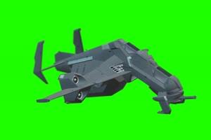 战斗机 飞机 航天飞机 2 绿屏抠像素材 免费下载手机特效图片
