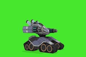 机器人战斗机 机器人 视频特效 绿幕素材 抠像通手机特效图片