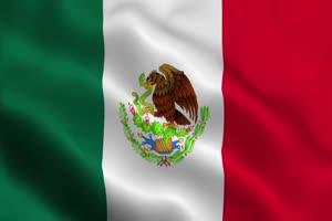 墨西哥 加拿大 国旗绿幕后期抠像视频特效素材手机特效图片