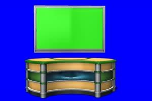 直播间 虚拟直播间1 免费绿幕视频 绿屏抠像视频手机特效图片