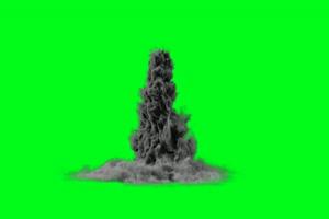 魔幻烟雾 魔法法术 绿屏素绿布和绿幕视频抠像素材