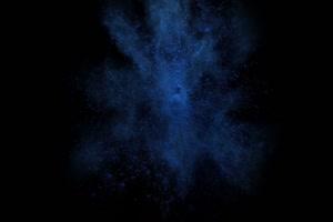 粉尘颜料燃料五彩粉末粒子 头顶 2 黑幕抠像视频手机特效图片