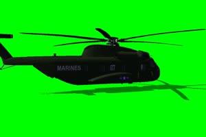 直升机 飞机 航天飞机 绿屏抠像素材 巧影AE 15手机特效图片