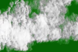 烟雾飞过 绿屏抠像蓝幕特效素材手机特效图片