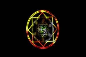 武侠素材 能量盾 魔法阵绿布和绿幕视频抠像素材
