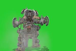 变形金刚 机器人 机器人 视频特效 绿幕素材 抠像手机特效图片
