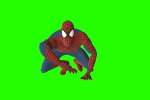 蜘蛛侠 13 漫威英雄 复仇者联盟 绿屏抠像 特效素手机特效图片