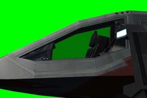 宇宙飞船 Cockpit 外星飞船 3 绿屏绿幕特效抠像素手机特效图片