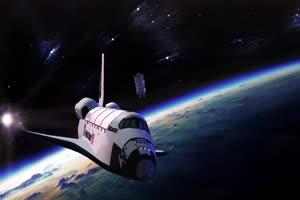 航天飞船2 绿屏绿幕视频免费下载手机特效图片