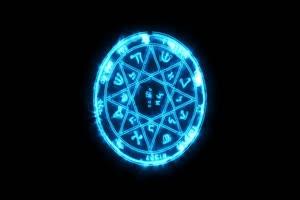 魔法光效87 能量球 八卦阵