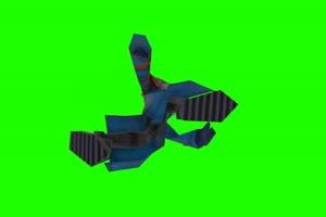 Wes Pokemon Colosseum 超清绿屏抠像 特效素材手机特效图片