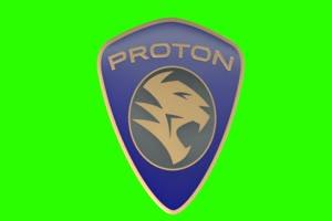质子 Proton logo 车标 绿屏抠像 特效素材手机特效图片