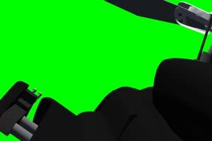 Airwolf 直升机 飞机 绿屏绿幕 抠像素材手机特效图片