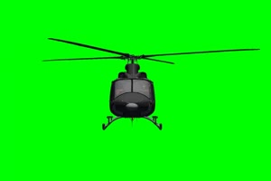 直升机 飞机 航天飞机 绿屏抠像素材 巧影AE 21 免手机特效图片